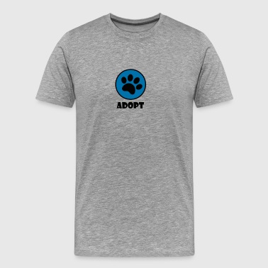 Shelter Adopt - Men's Premium T-Shirt
