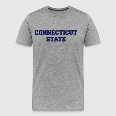 connecticut state - Men's Premium T-Shirt