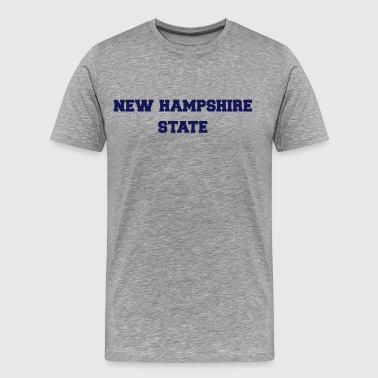 new hampshire state - Men's Premium T-Shirt