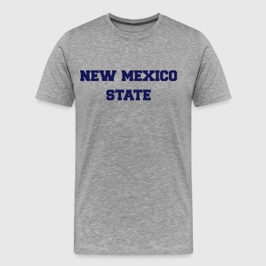 new mexico state - Men's Premium T-Shirt