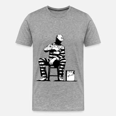 Graffiti Dolk Prison Painter - Men's Premium T-Shirt