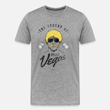 Welcome To Las Vegas The Legend of Billy Vegas - Men's Premium T-Shirt