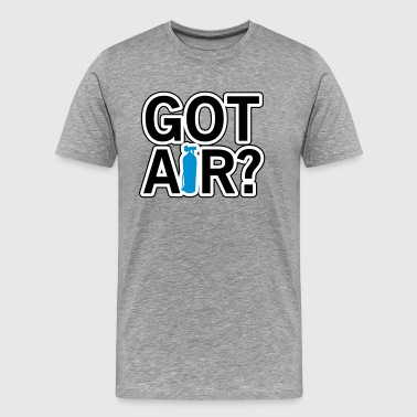 Diving: Got air? - Men's Premium T-Shirt