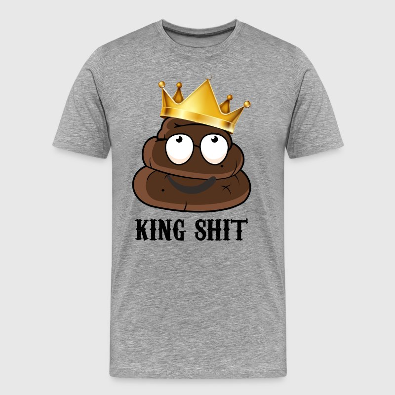 king shit - Men's Premium T-Shirt