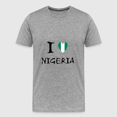 Lagos I LOVE.... - Men's Premium T-Shirt