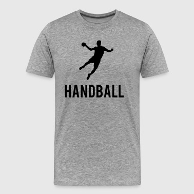 Handball Sports - Men's Premium T-Shirt