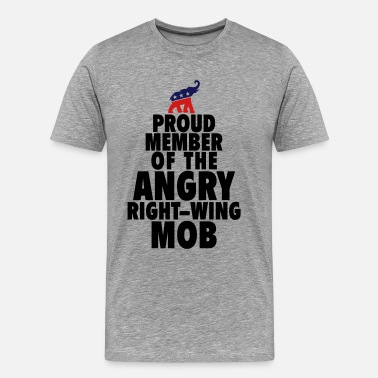 Right Wing Right Wing Mob - Men's Premium T-Shirt