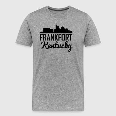 Frankfort Kentucky Skyline - Men's Premium T-Shirt