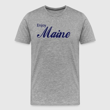 maine - Men's Premium T-Shirt