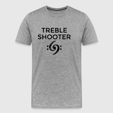 Treble Shooter 69 Bass Design (Black) - Men's Premium T-Shirt