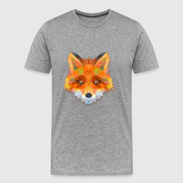 Hipster Fox - Men's Premium T-Shirt