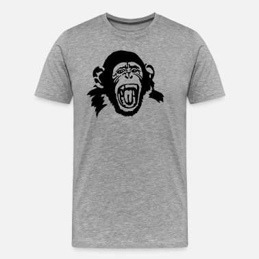 Evolution Monkey monkey - Men's Premium T-Shirt