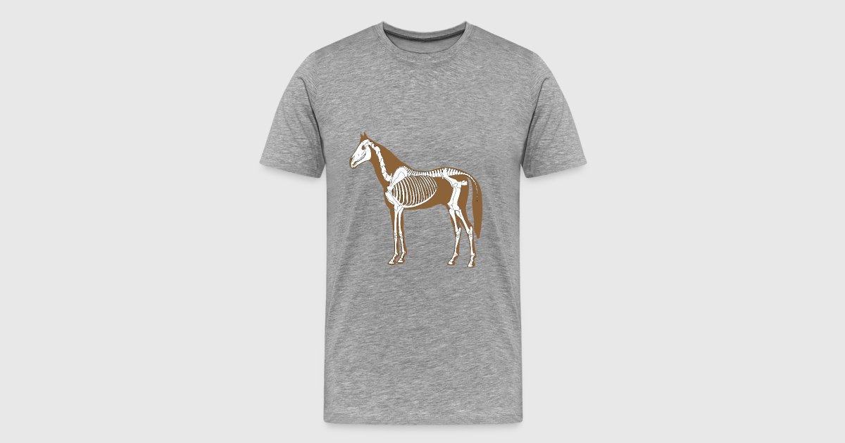 Horse Skeleton Anatomy by Barkwar | Spreadshirt
