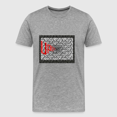 UPDFQ GRID PICTURE - Men's Premium T-Shirt