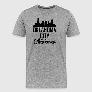 Oklahoma City Oklahoma Skyline - Men's Premium T-Shirt