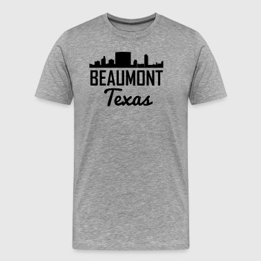 Beaumont Texas Skyline - Men's Premium T-Shirt
