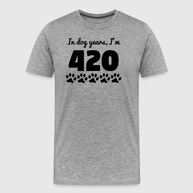 Dog Years 60th Birthday - Men's Premium T-Shirt