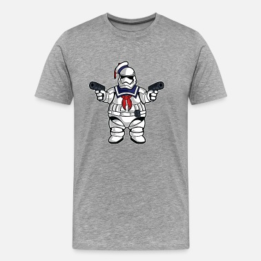 Stay Puft Marshmallow Man Stay Puft Stormtrooper - Men's Premium T-Shirt