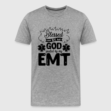 Spoiled By My EMT Shirt - Men's Premium T-Shirt
