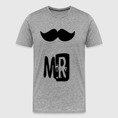 mr mustache - Men's Premium T-Shirt