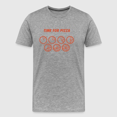 TIME FOR PIZZA pizza Pizza pizzaaaah - Men's Premium T-Shirt