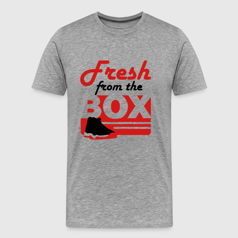 fresh from the box bred 11 - Men's Premium T-Shirt