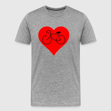 Love To Bike Love Biking - Men's Premium T-Shirt