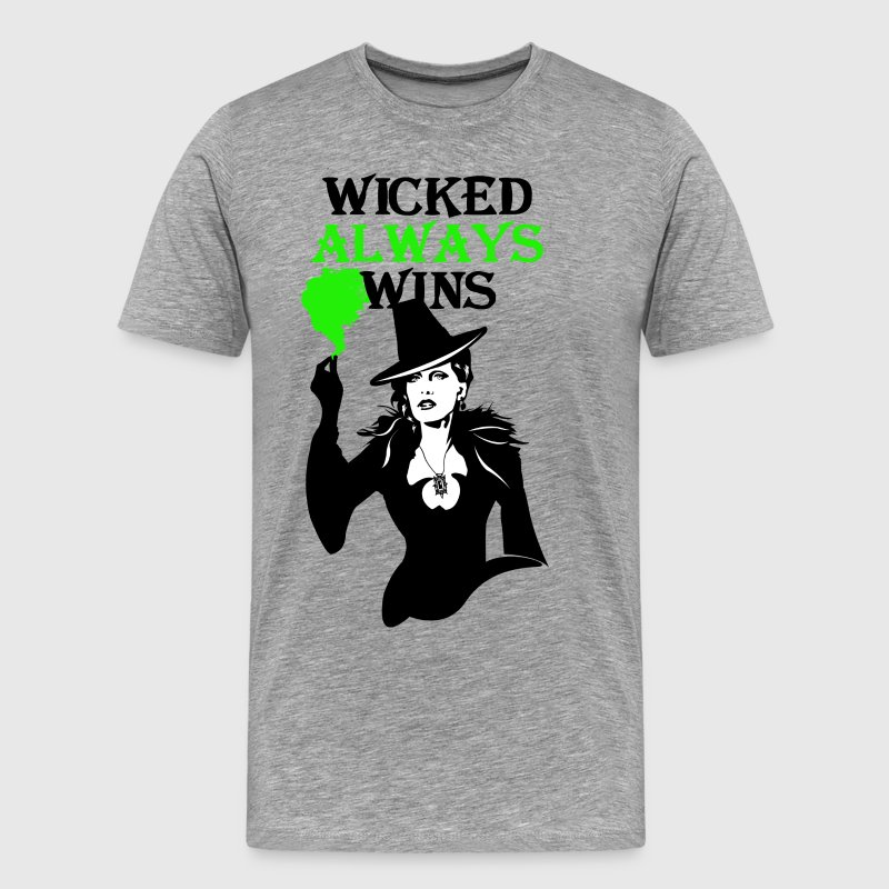 OUAT. Wicked Always Wins - Men's Premium T-Shirt