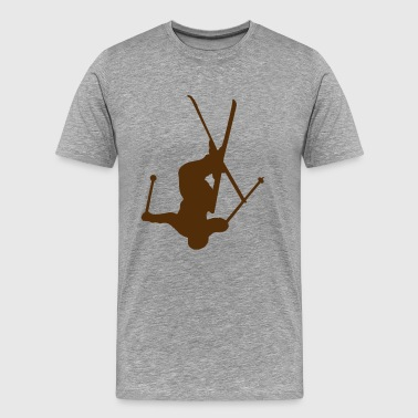 Freestyle Ski Jump - Men's Premium T-Shirt