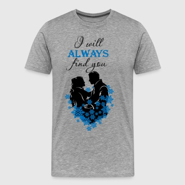 Snow White and Prince Charming OUAT T-Shirt - Men's Premium T-Shirt