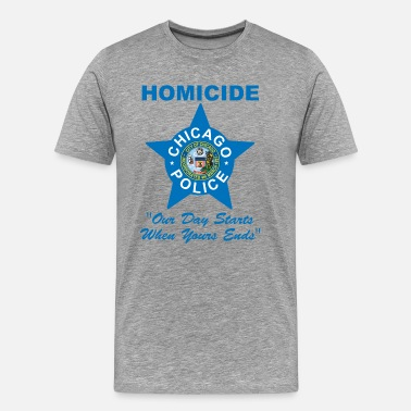 Chicago Police Chicago Police Homicide - Men's Premium T-Shirt
