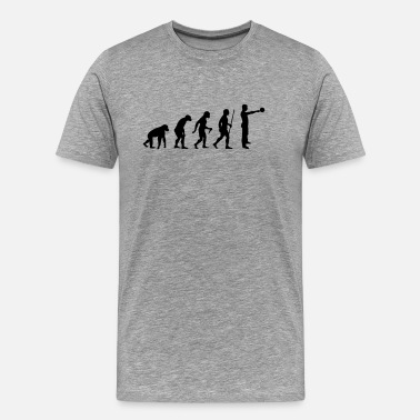 Kettlebell Evolution - Kettlebell Swing - Men's Premium T-Shirt