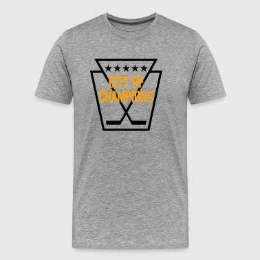 Pittsburgh Hockey - Men's Premium T-Shirt