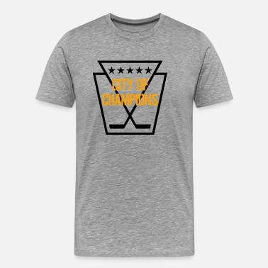 Yinz Pittsburgh Hockey - Men's Premium T-Shirt