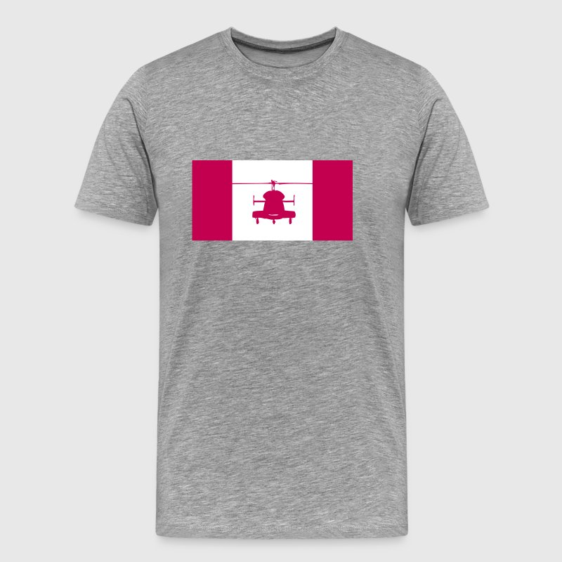 Helicopter Canada - Men's Premium T-Shirt