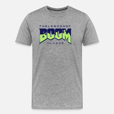 Seahawks Boom (Doom) - Men s Premium T-Shirt e148e1661