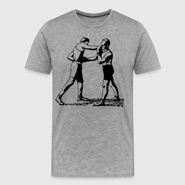 Old time boxing vintage - Men's Premium T-Shirt