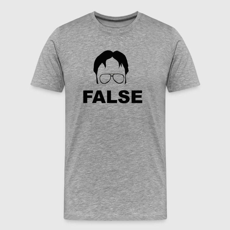 dwight schrute false - the officebarrelroll | spreadshirt