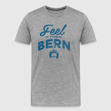 Feel The Burn - Vintage Blue - Men's Premium T-Shirt