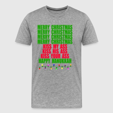 Christmas Vacation Quote - Merry Christmas - Men's Premium T-Shirt
