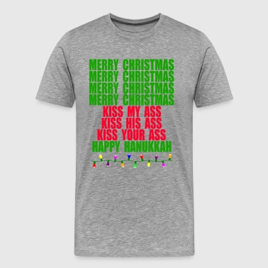 Clark Griswold Christmas Vacation Quote - Merry Christmas - Men's Premium T-Shirt