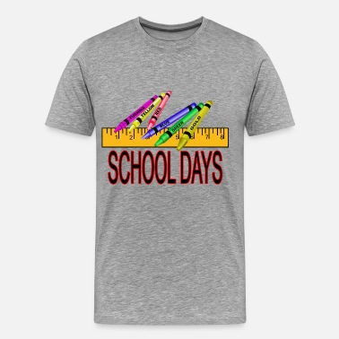1st Day Of School School Days - Men's Premium T-Shirt