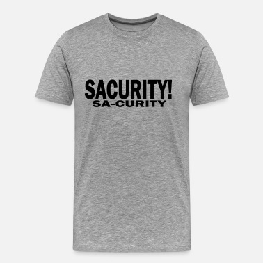 Bon Qui Qui girls_bon_qui_qui_security_sacurity_tee_ - Men's Premium T-Shirt
