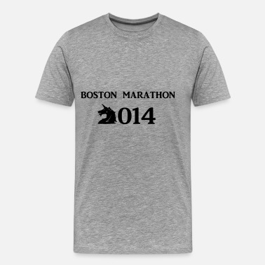 Boston Boston Marathon Boston Marathone 2014 - Men's Premium T-Shirt