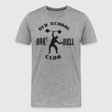 Old School Barbell Club - Men's Premium T-Shirt
