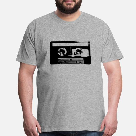 07e323347743 Cassette Tape - 80s - Vintage - Retro - Music Men's Premium T-Shirt ...