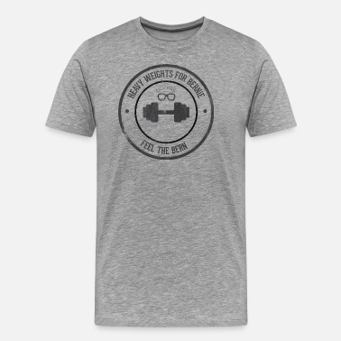 Socialist Heavy Weights For Bernie - Men's Premium T-Shirt