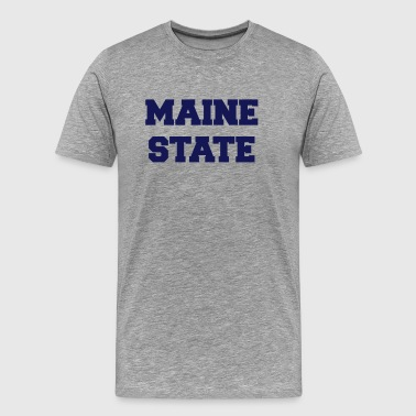 maine state - Men's Premium T-Shirt