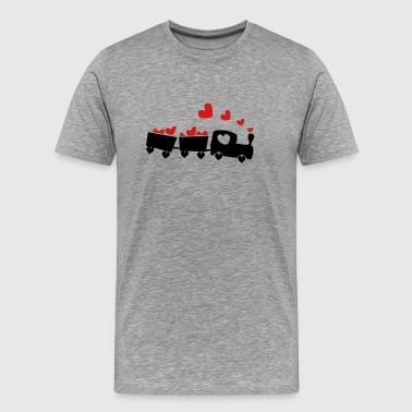 Love Train Love Train - Men's Premium T-Shirt