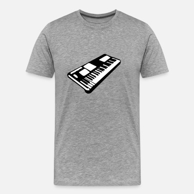 Keyboard Instrument keyboard music piano music instrument - Men's Premium T-Shirt